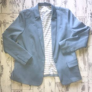 Cupcakes & Cashmere blue blazer XL